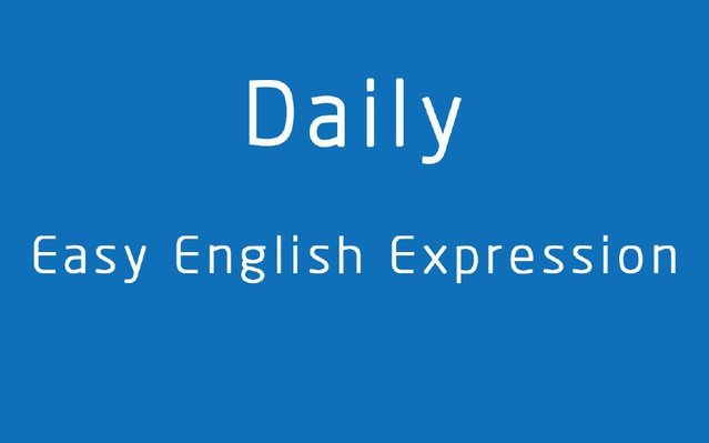 英语口语表达