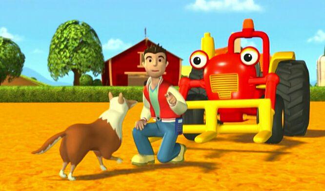 工程车汤姆去野餐