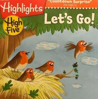 欧美著名儿童读物杂志Highlights High Five2019年9月期刊值得入手!