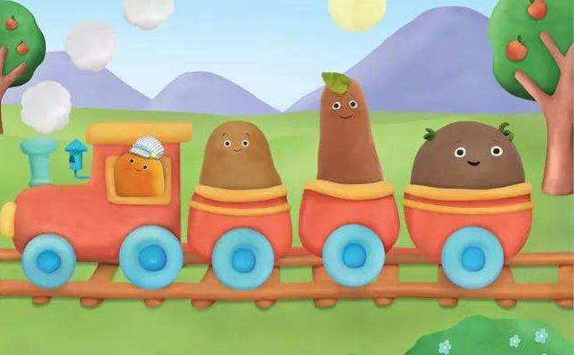 爱唱的小土豆动画片