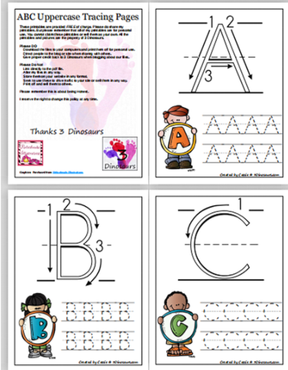 26个英文字母手写体示范