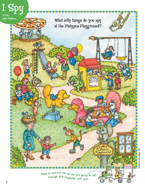 欧美儿童杂志Cricket Media2019年3月刊下载下载自取