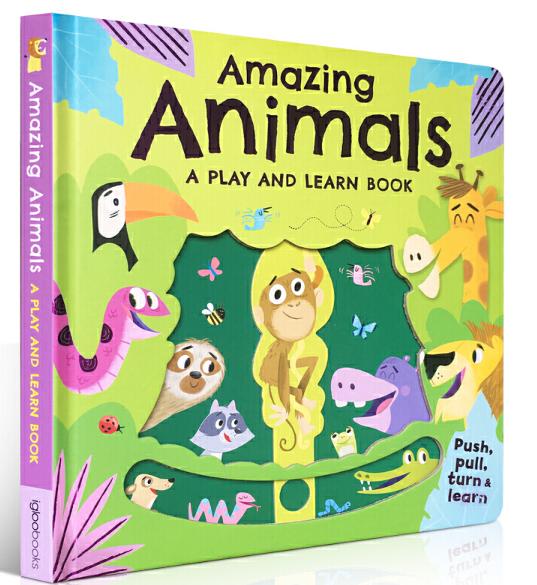 动物知识科普童书:神奇的动物 Amazing Animals 高清PDF免费获取。