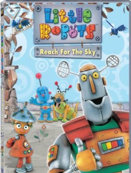 机器人历险记 Little Robots 免费观看,BBC原版英语动画片合集下载!