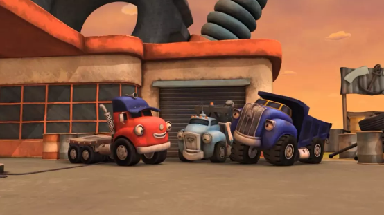 全是汽车的动画片叫什么